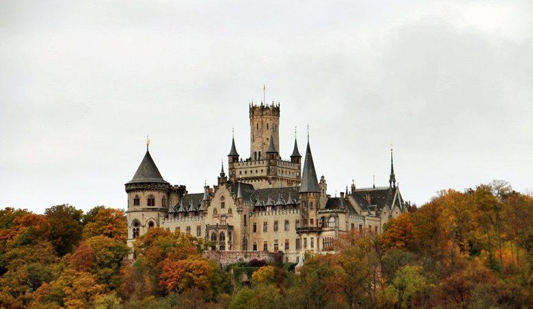 Blick auf Marienburg bei Nordstemmen